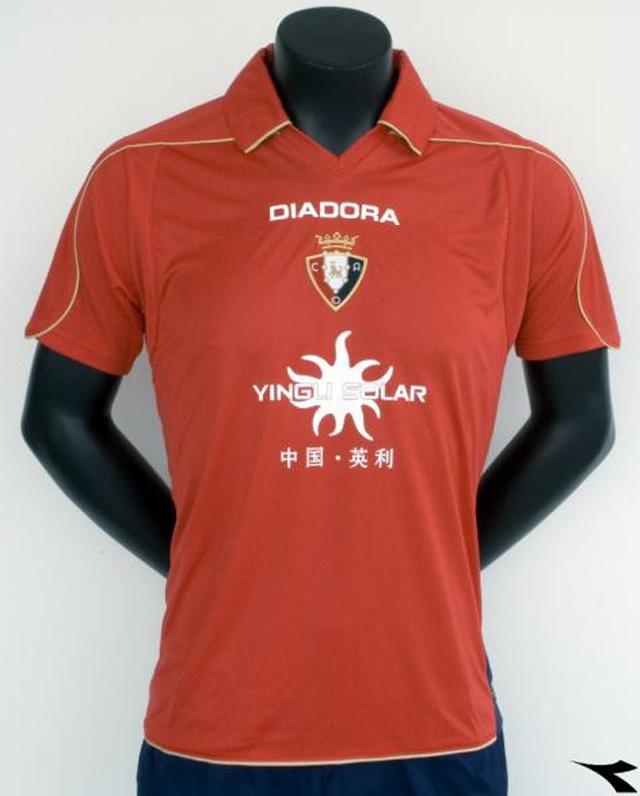 Osasuna firma con Diadora para cinco temporadas y presenta nueva equipación