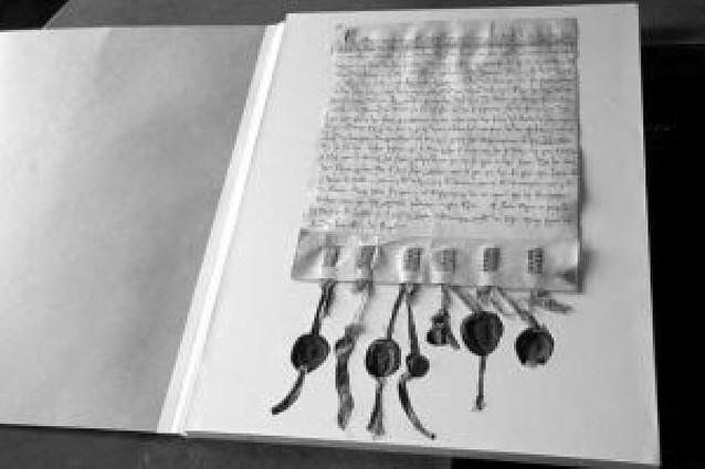 La colección de 116 pergaminos de Olite, restaurada y digitalizada para su consulta