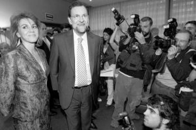 """Rajoy garantiza que el PP saldrá adelante y que no """"fallará"""" a sus votantes"""