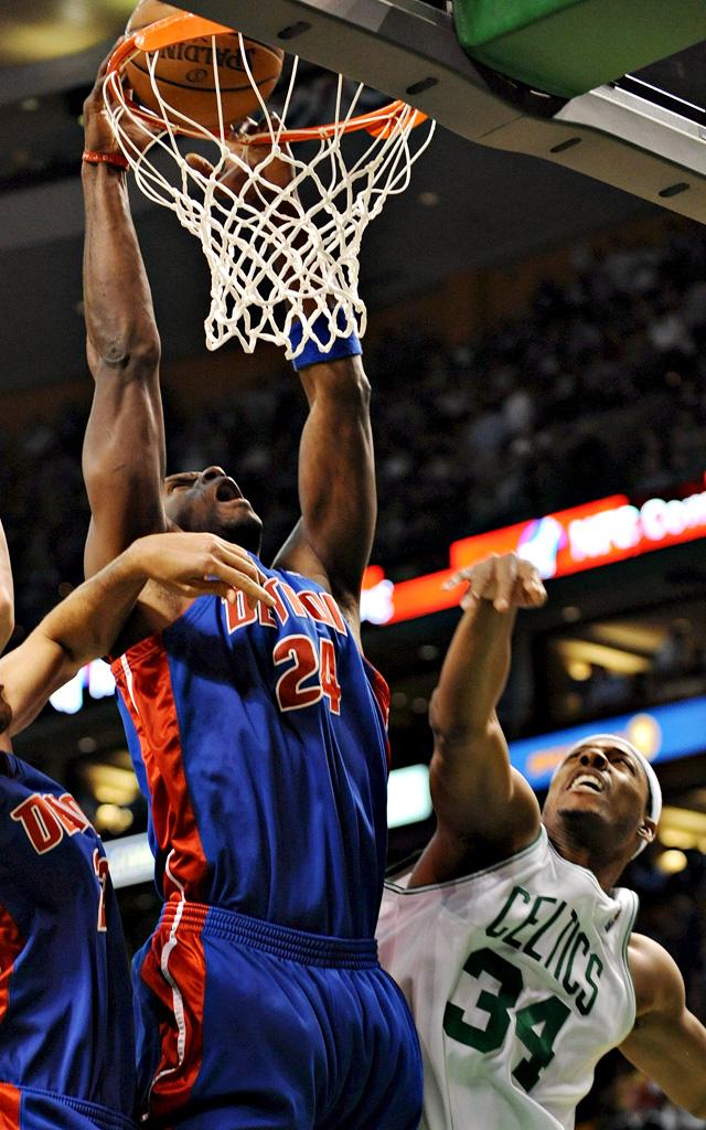 Los Pistons rompen la racha de los Celtics (103-97) y empatan la serie