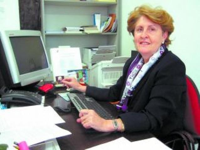 La secretaria cierra la agenda del alcalde