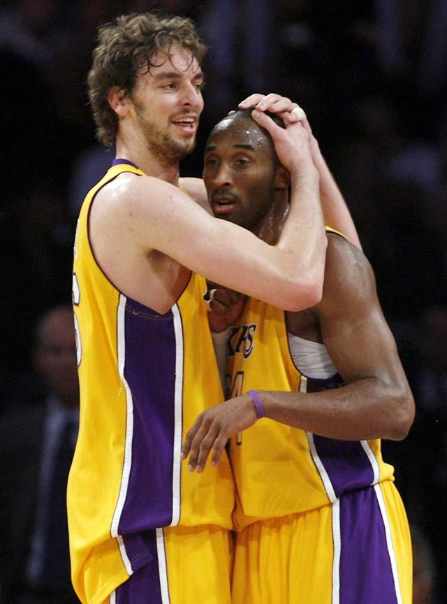 Severo correctivo de unos Lakers inmensos en defensa (101-71)