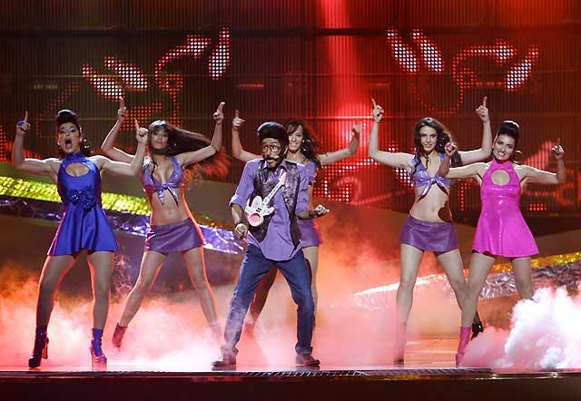 Abucheos para Cikilicuatre en el Festival de Eurovisión
