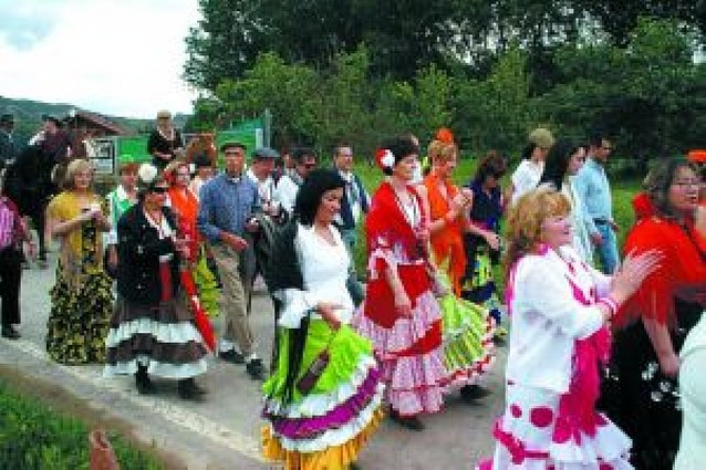 Fitero celebra su particular fiesta del Rocío