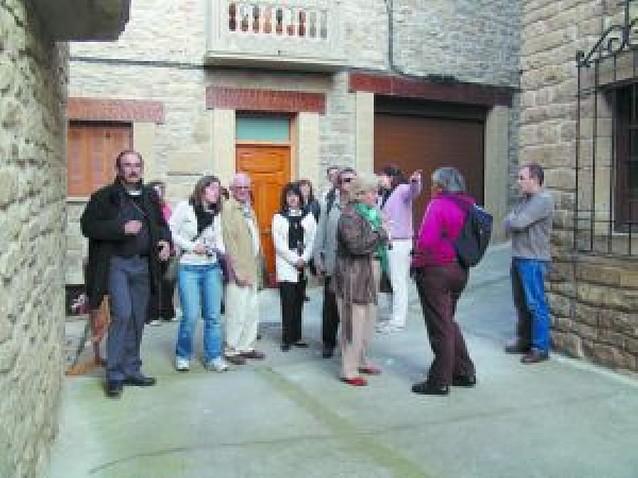 Visita del grupo de acción local Alpes Lumière con Cederna