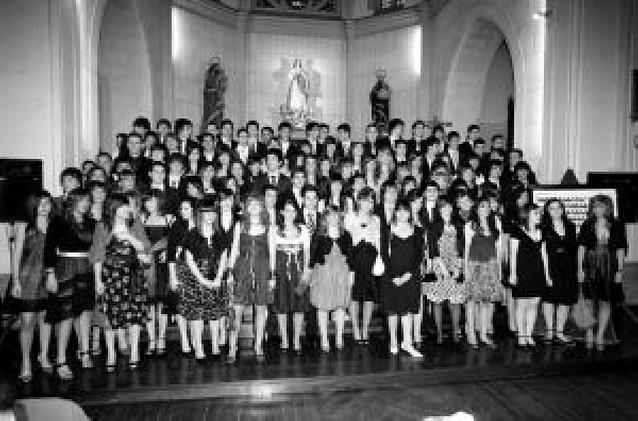 Graduación en el colegio de Jesuitas