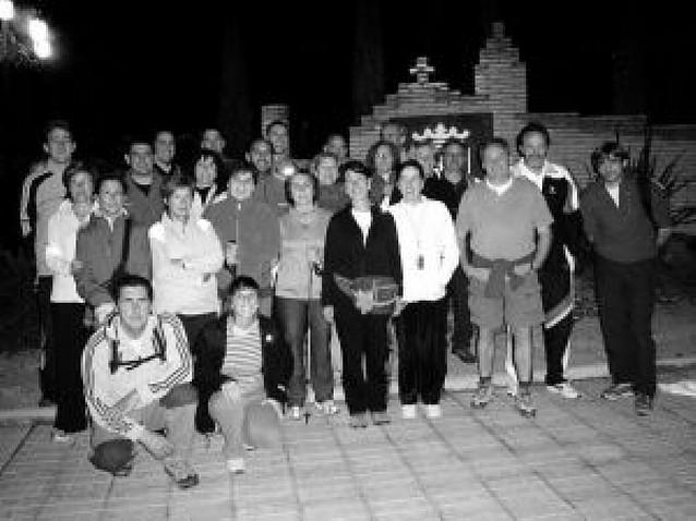 Unos 30 peregrinos cirboneros caminan hasta la Virgen de los Milagros de Ágreda