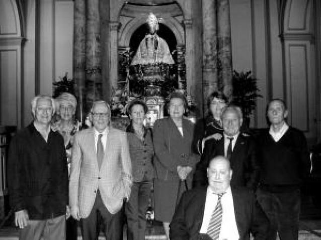 La corporación pamplonesa de 1983 celebró su 25 aniversario