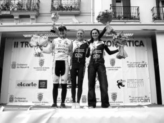 La valenciana Anna Sanchís se impuso en la meta de Estella