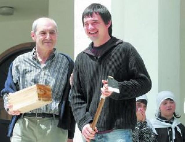 El Día de Sakana homenajea a José Ramón Anda y Javier Iriarte en Irurtzun