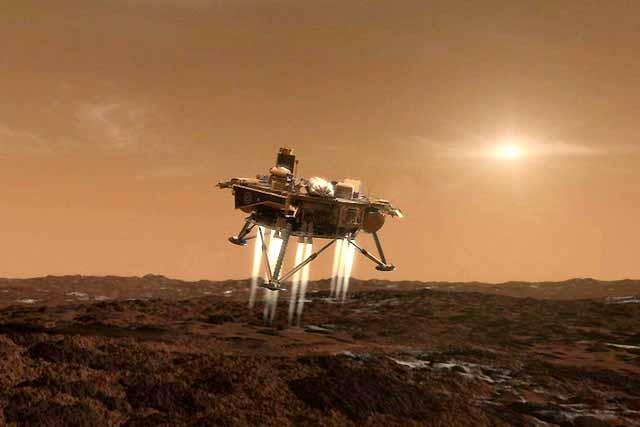 La sonda Phoenix aterriza mañana en Marte para recabar datos sobre la existencia de agua en el planeta