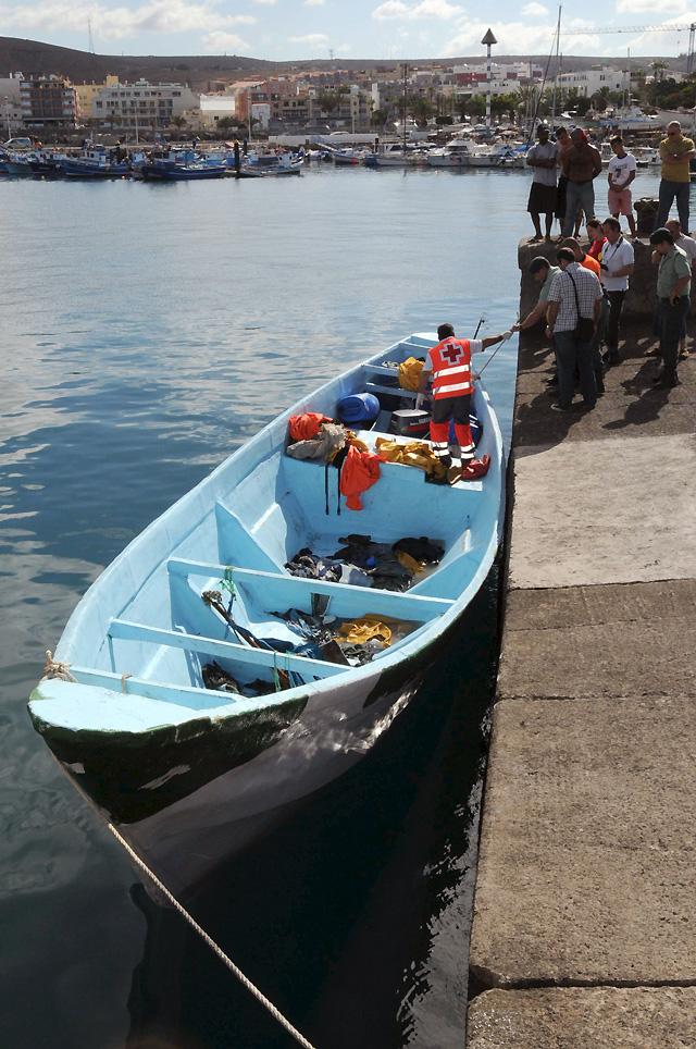 Fallecen tres inmigrantes al intentar alcanzar la costa de Gran Canaria