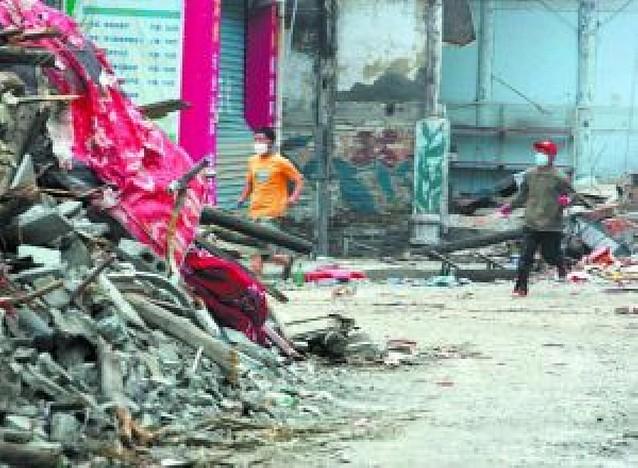 Una fuerte réplica causa al menos dos muertos y más de 480 heridos en Sichuan