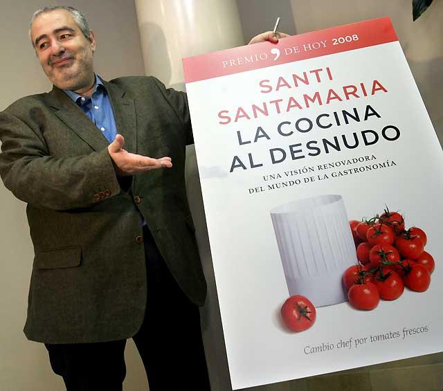 """Santi Santamaría denuncia el """"caciquismo"""" de los cocineros españoles"""