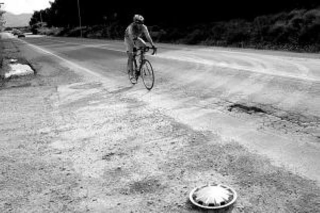 Los accesos a Tudela, en muy mal estado