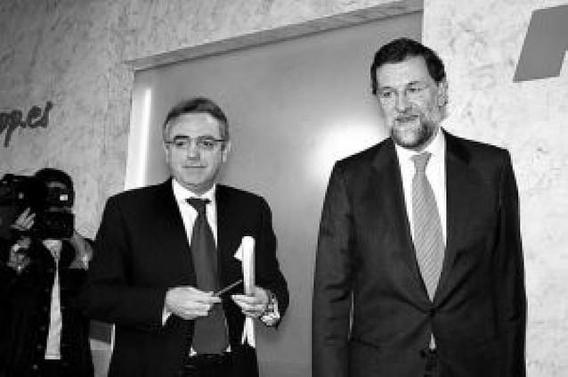 Sanz y Rajoy se reúnen en Madrid en medio de la crisis interna del PP
