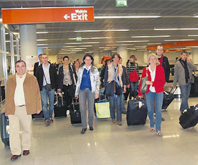 La delegación del Consistorio llega a Varsovia camino de Torun