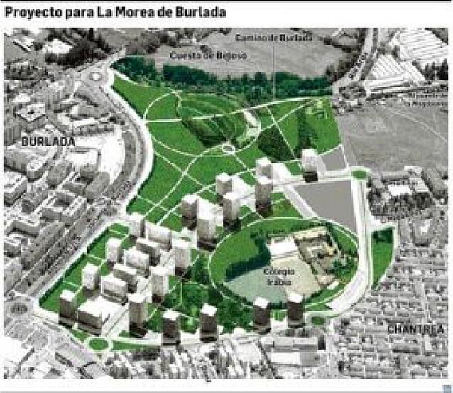 El Gobierno plantea 1.116 VPO y un gran parque junto a la travesía de Burlada