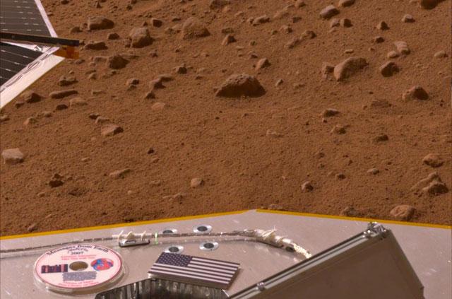 """La onda espacial """"Phoenix"""" sufre una avería en Marte"""