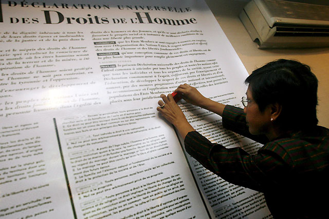 Amnistía Internacional pide a los dirigentes mundiales que se disculpen por no cumplir sus promesas