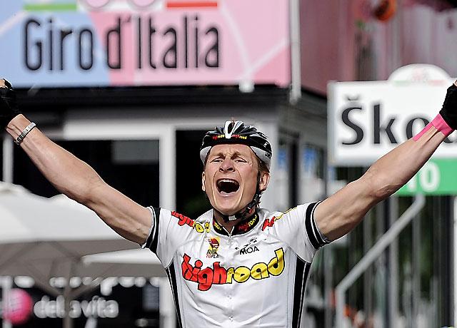 El alemán André Greipel gana al sprint la 17ª etapa del Giro