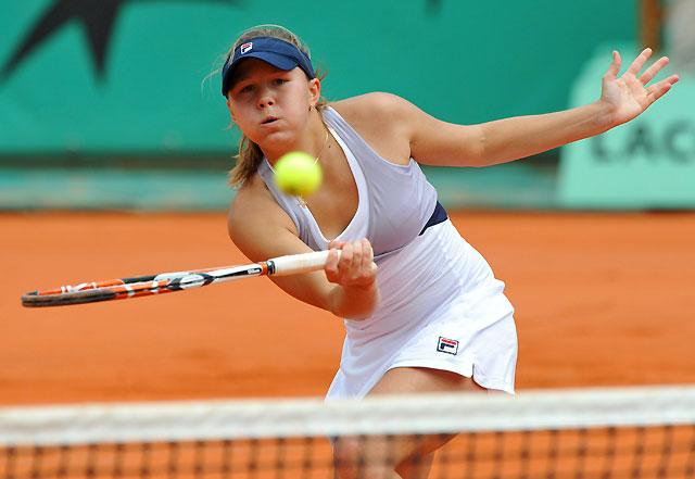 Una adolescente rusa, a punto de eliminar a Sharapova