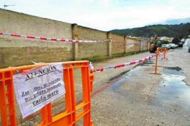 El Ayuntamiento derribará parte del muro del cuartel
