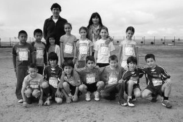 Cantera de atletismo en Cadreita