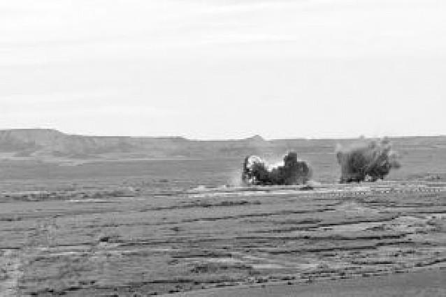 Bardenas hará un estudio para saber si hay restos de uranio porque Defensa no le entrega el suyo