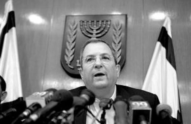 El ministro de defensa israelí reclama la dimisión del primer ministro Ehud Olmert