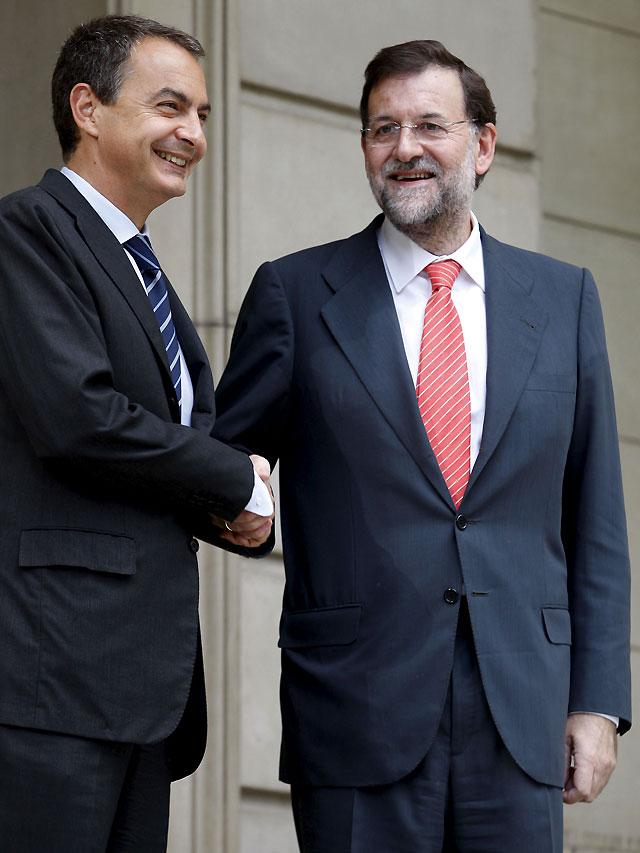 Zapatero ofrece a Rajoy una mesa para realizar reformas estructurales