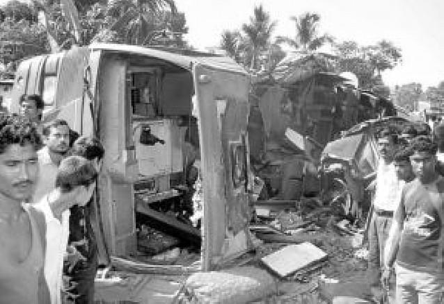 Al menos 46 muertos en dos accidentes de autobús en la India