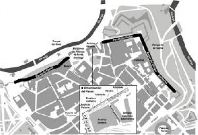 Pamplona completará el Paseo de Ronda entre el Labrit y el Archivo Real para verano