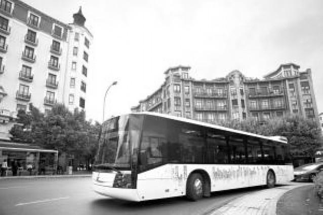 Sunsundegui presenta su nuevo autobús para transporte urbano