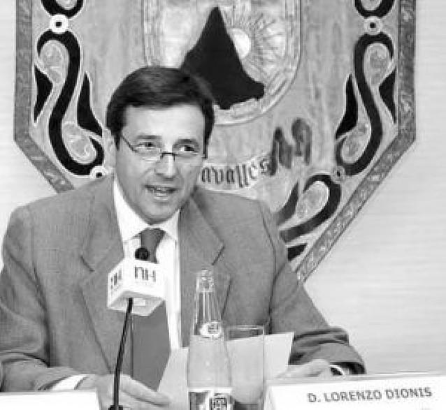 Lorenzo Dionis, presidente de la federación nacional de padres de alumnos FAPACE