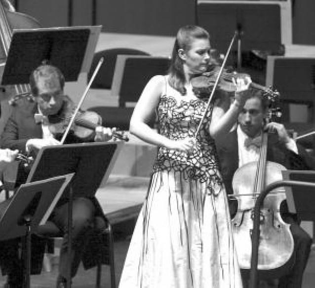 Violín, orquesta y calidad europeos