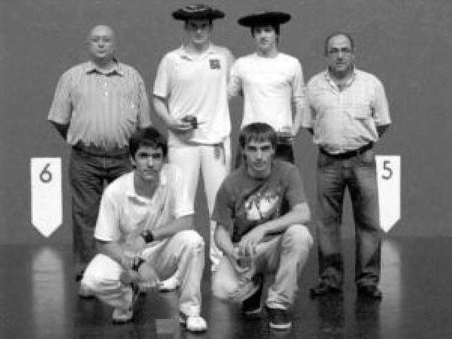 Beraza y Ezkurdia, campeones de los Juegos Deportivos