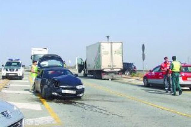 Segundo accidente en tres días en el cruce de la carreterra Nacional 113