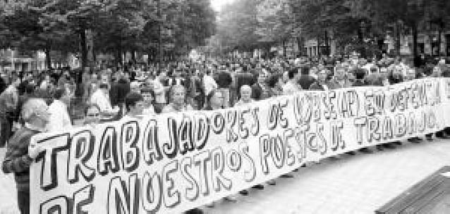 """Critican al Gobierno foral por ayudar a KYBSE a """"deslocalizar"""" 200 empleos de Ororbia a Los Arcos"""