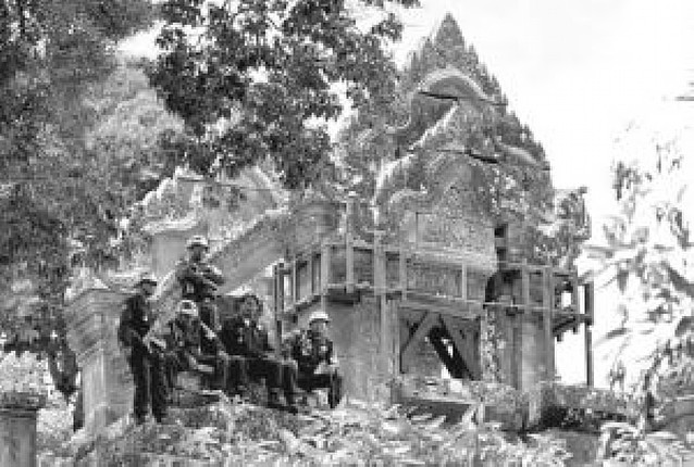 Disputa por las ruinas de un templo jemer