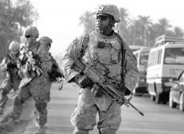 Las tropas de EE UU se quedarán en Irak hasta finales de 2011
