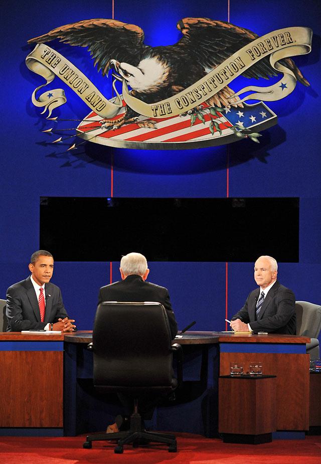 Las discrepancias entre Obama y McCain para hacer frente a la crisis financiera centran el último cara a cara