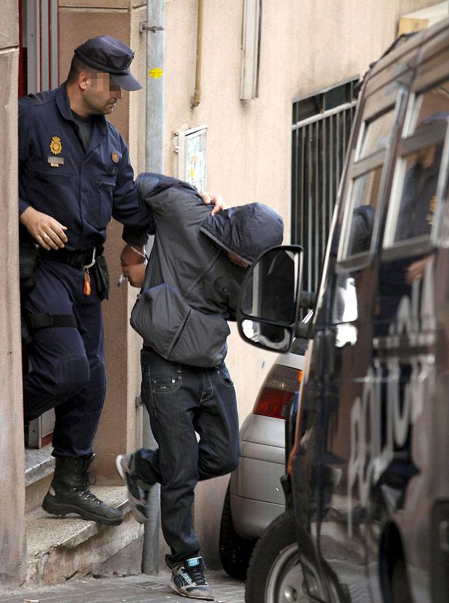 Ocho detenidos en Barcelona en una operación contra el terrorismo islamista