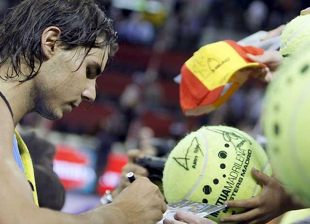 Las victorias de Nadal y Feliciano aseguran un semifinalista español en Madrid