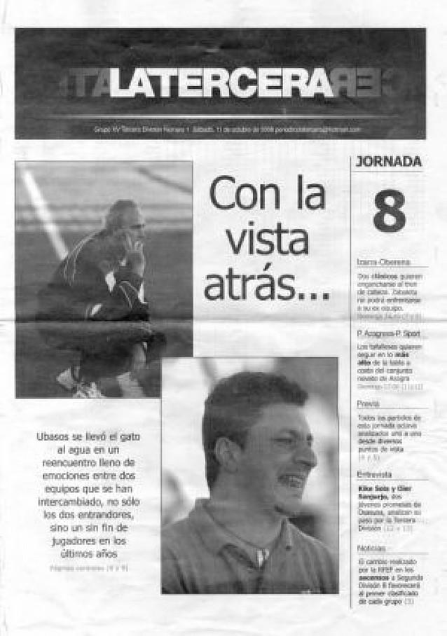 Un periodista recupera el periódico de Tercera
