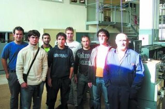 El IES Politécnico de Estella imparte cursos a trabajadores
