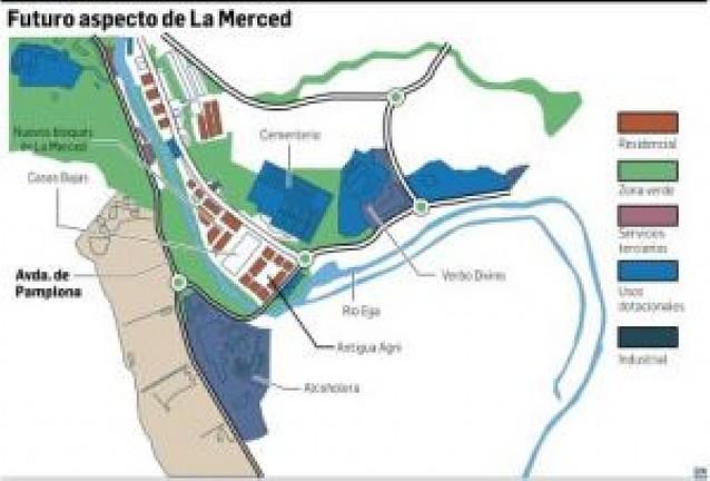 El consistorio de Estella está a punto de hacerse con un bloque de La Merced