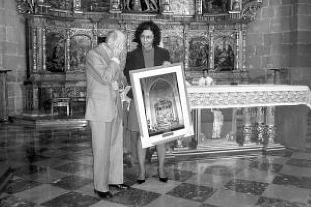 José Azagra recibe un homenaje por sus 20 años como sacristán