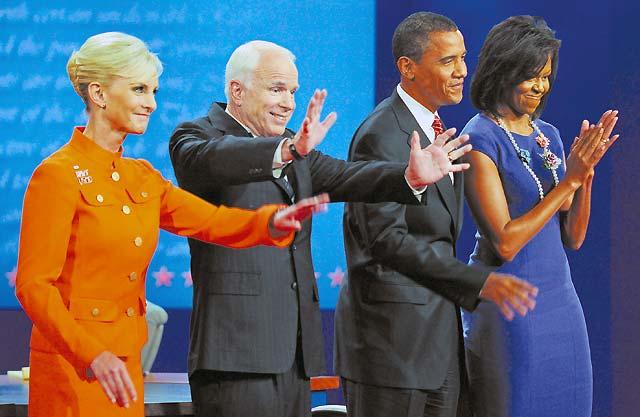 McCain y Obama centran su último debate en la economía y las tácticas de campaña