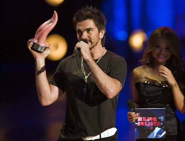 Juanes y Tokio Hotel triunfan en los Premios MTV Latinoamérica 2008